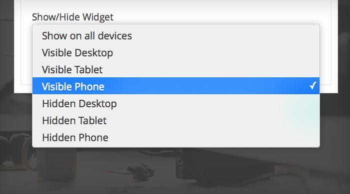 Pojo-Device-Widget