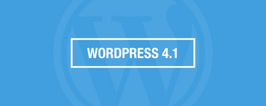 תכירו את וורדפרס 4.1