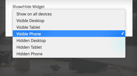 Device Widget