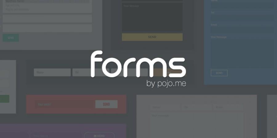 תכירו את Pojo Forms – תוסף טפסים ב Drag & Drop