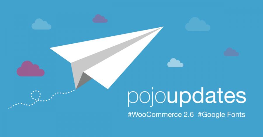 עדכון גרסה לפוג'ו: פונטים חדשים ותאימות מלאה ל WooCommerce 2.6