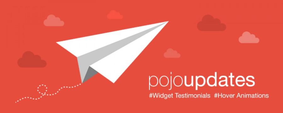 אנימציות, טסטמוניות ופיצ'רים חדשים ב Pojo